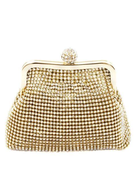koko gold crystal clutch bag designer gold evening bags