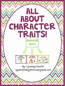 Grade Chart For Students Character Traits Free Posters And Graphic Organizers By