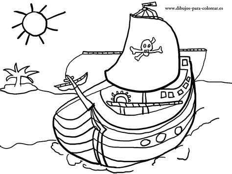 Dibujos De Barcos Para Imprimir Y Colorear by Barco Pirata Dibujos Para Colorear
