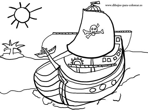 Dibujo Barco Pirata Para Imprimir by Barco Pirata Dibujos Para Colorear