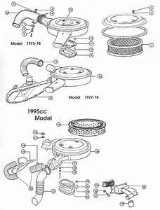 Fiat 124 Air Cleaner  U2013 1968