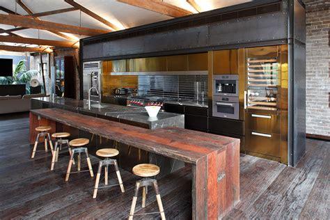 warehouse kitchen conversion art  kitchens