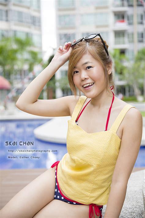 bikini photo shoot esther choey skai chan photography