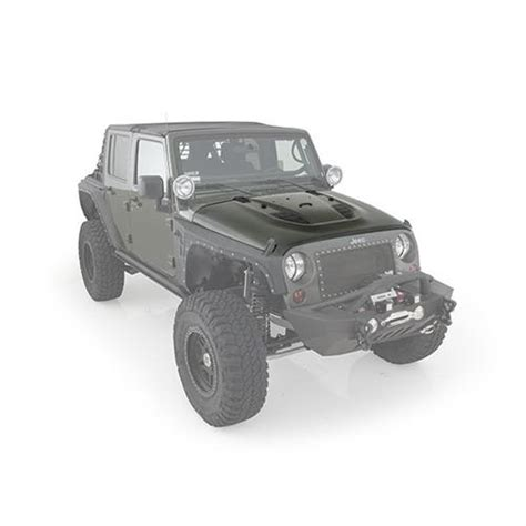 jeep vented hood all things jeep src stingray vented hood for jeep