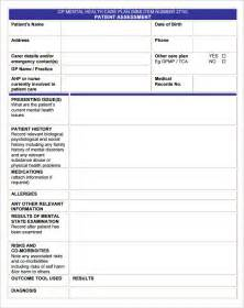 Home Care Plan Template
