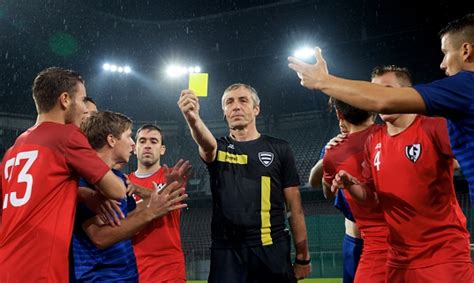 Huge collection, amazing choice, 100+ million high quality, affordable rf and rm referee showing yellow card stock photos and images. Referee Showing Yellow Card Stock Photo - Download Image Now - iStock