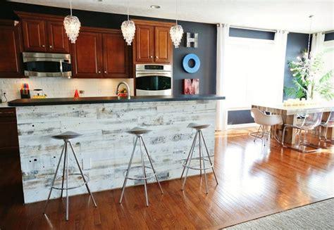 peel  stick wood wall decor backsplash cool material