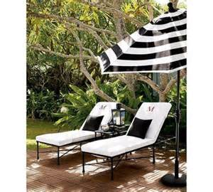 black striped patio umbrella yes black and white stripes do seem chic backyard