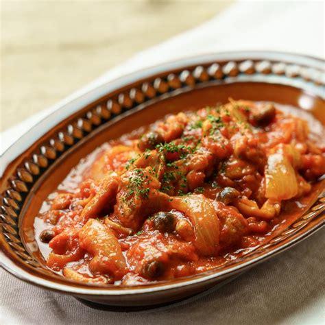 チキン の トマト 煮込み