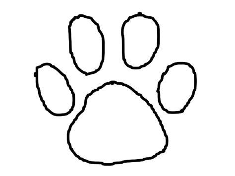 Tiger Paw Template - Costumepartyrun