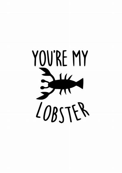 Lobster Svg Friends Tv Quotes Silhouette Cricut