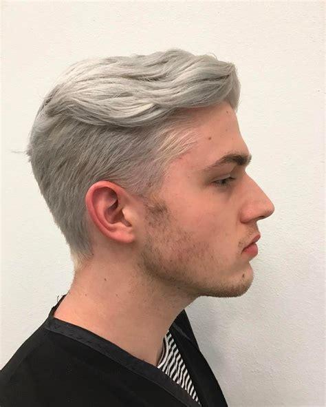 ideas  silver hair men  pinterest grey