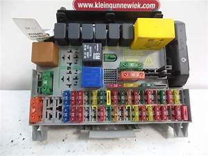 Opel Vectra B Fuse Box