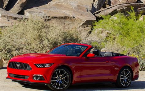 ford mustang ecoboost convertible wallpapers  hd images car pixel