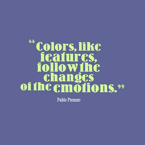 quote about color 37 best pablo picasso quotes images