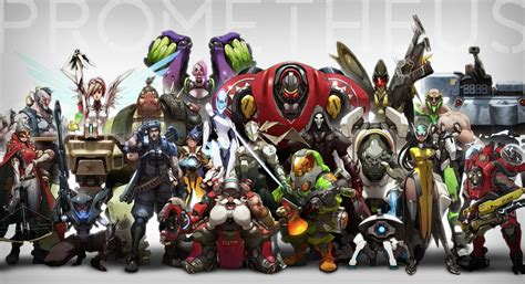 blizzcon   overwatch concept art  early gameplay