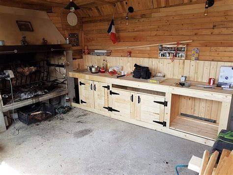 DIY Wood Pallets Mud Kitchen Plan   Pallet Wood Projects