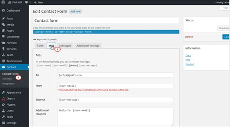 wordpress   deal  contact form plugin