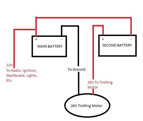 got a 24v trolling motor need a solar charger wiring questions page 1 iboats