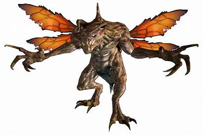 Fallout Claw Death Wiki Golden Deathclaws Flying