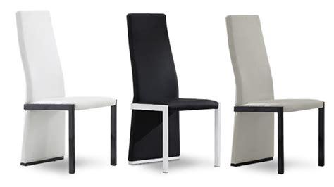 chaise dossier haut chaises mobilier cuir
