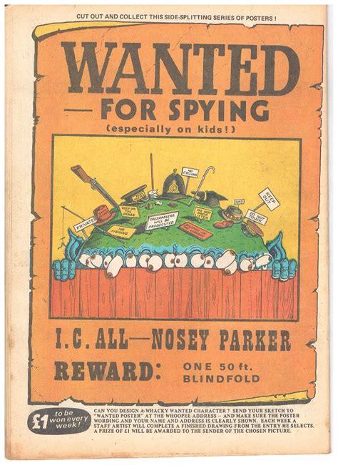 Peter Gray's Comics and Art: Ken Reid's Wanted posters ...