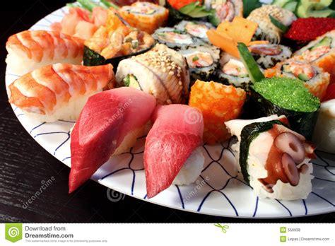 cuisine sushi japanese food royalty free stock photos image 550938
