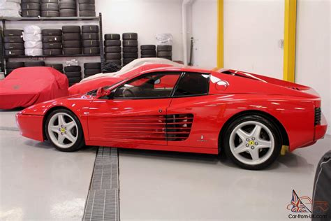 The 512 tr was the last truly desirable testarossa ferrari in the eyes of most enthusiasts. Ferrari : Testarossa 512 TR