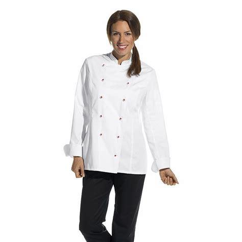 vestes de cuisine veste de cuisine femme manches longues cintrée poche sur