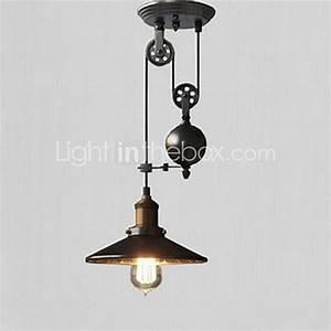 Lampe Suspendue Cuisine : rustique r tro lampe suspendue pour cuisine couloir garage ~ Edinachiropracticcenter.com Idées de Décoration