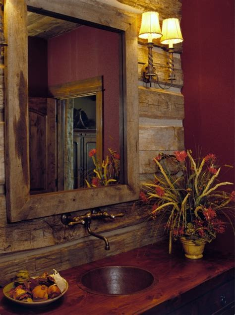 cabin themed decor our bathroom of the week the rustic bathroom 1908