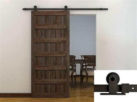 doors on tracks 6ft coffee modern european style barn wood sliding