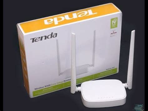unboxing tenda n301 wireless n300 easy setup router white