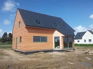 Ossature Bois Maison : constructeur maison ossature bois morlaix i construibois ~ Melissatoandfro.com Idées de Décoration