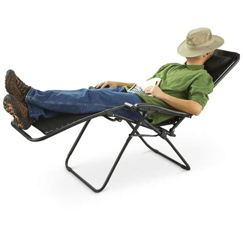 Zero Gravity Cing Chair by Guide Gear Zero Gravity Lounge Chair 198420 Chairs At