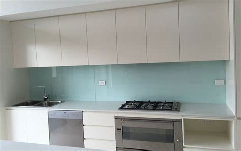 clear glass canisters for kitchen coloured glass kitchen splashback installation by express