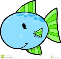 Cute Cartoon Fish Clip Art