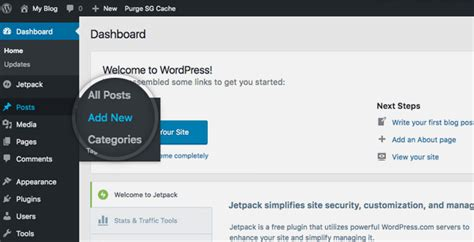 Create A Wordpress Post Tutorial