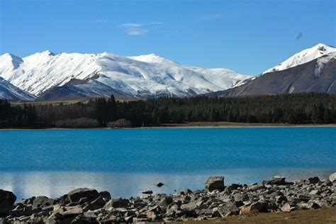 Travel Trip Journey Lake Tekapo New Zealand