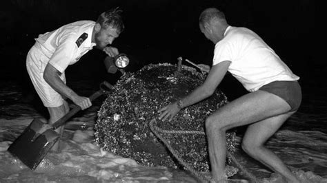 Remember when ... World War II German mine washes up on ...