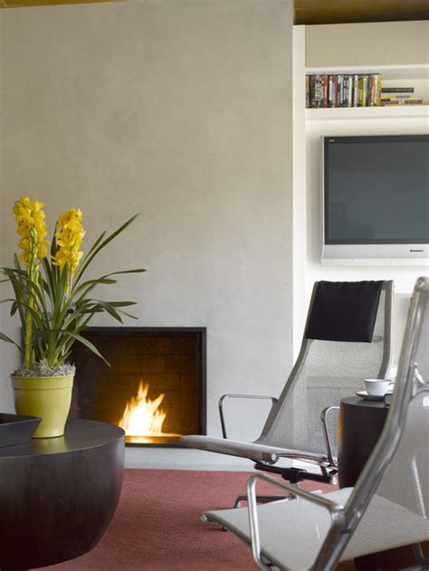 plaster fireplace home design ideas pictures remodel  decor
