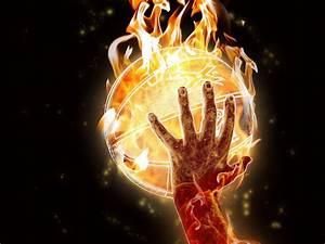 Stephen Curry On Fire Wallpaper WallpaperSafari