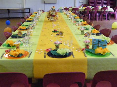 deco de table bapteme theme coccinelle orangeanis