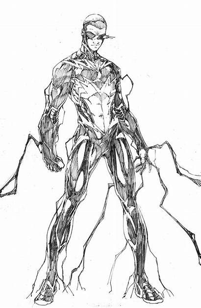 Lightning Coloring Dc Pages Comics Zombie Devil