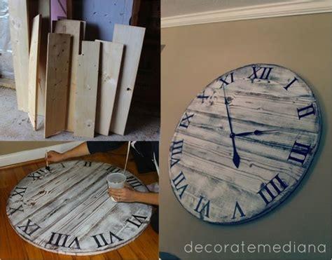 DIY Giant Pottery Barn Wall Clock for $10   Do It Yourself Fun Ideas