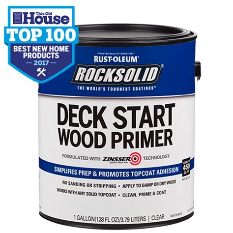 rocksolid deck start wood primer product page