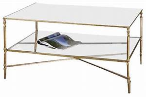 uttermost henzler mirrored glass coffee table coffee With henzler coffee table
