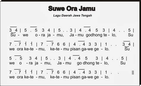 notasi lagu wajib belajar lagu wajib indonesia syukur newhairstylesformen2014 com