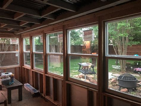Diy Sunroom Diy Sunroom How To Convert A Porch To A Sunroom