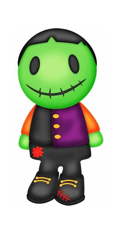 Halloween Clipart Monsters Clip Minus Frankenstein